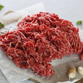 raw beef mince